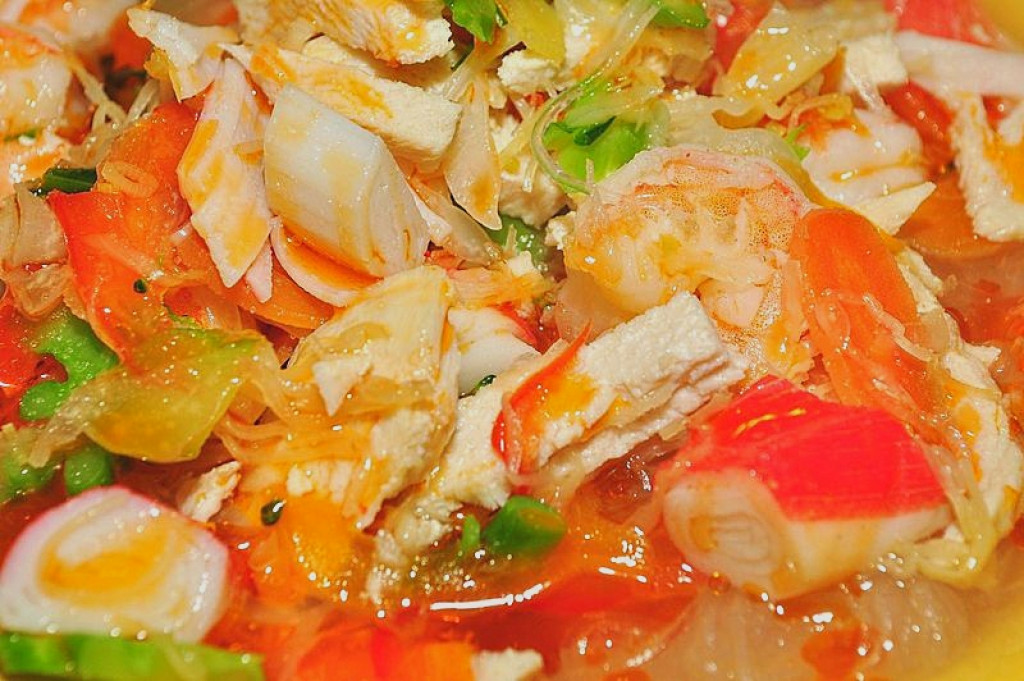 Best spicy shrimp fish and seafood soup recipes hot for Fish and shrimp soup