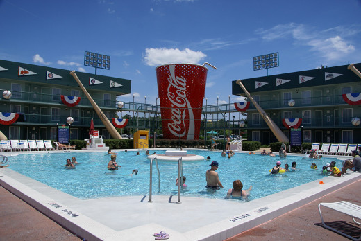 The baseball pool at All-Star Sports