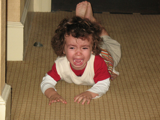 Curbing Your Toddler's Temper Tantrums