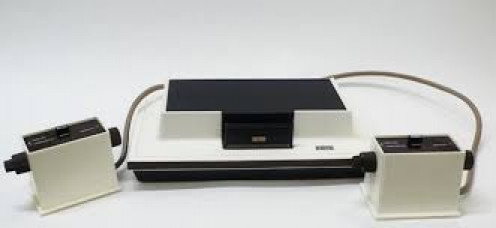 The Odyssey came out for sale in 1972 and it was the first ever home video gaming console.
