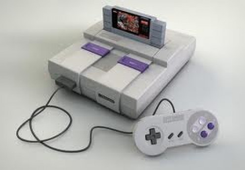 The Super Nintendo was a 16 bit console that competed with the Sega Genesis fr over five years.