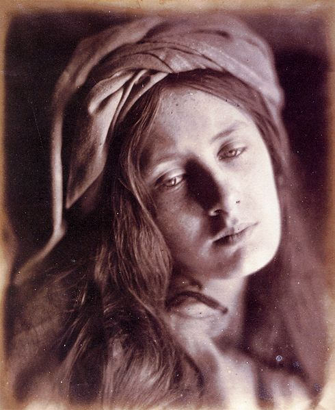 Study of Beatrice Cenci by Julia Margaret Cameron