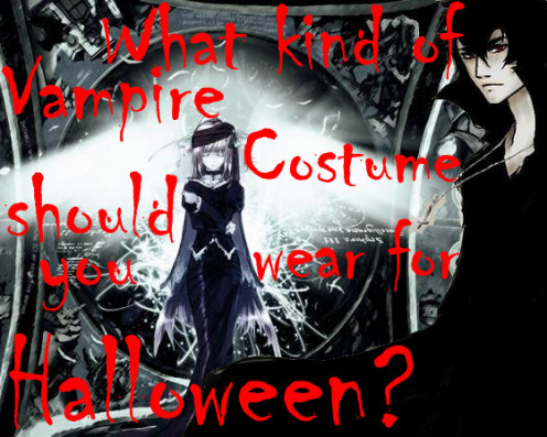 What kind of vampire costume should you wear for Halloween?