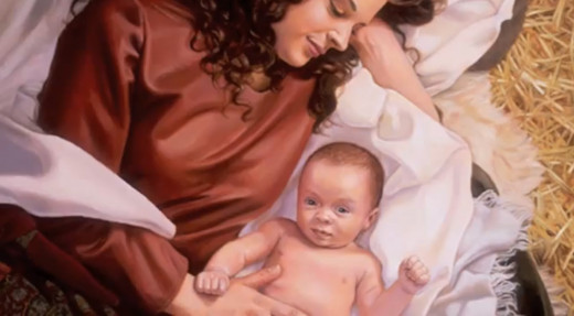 Mary and the Baby Jesus by Dan Freed. © 2004. All rights reserved. Used by permission