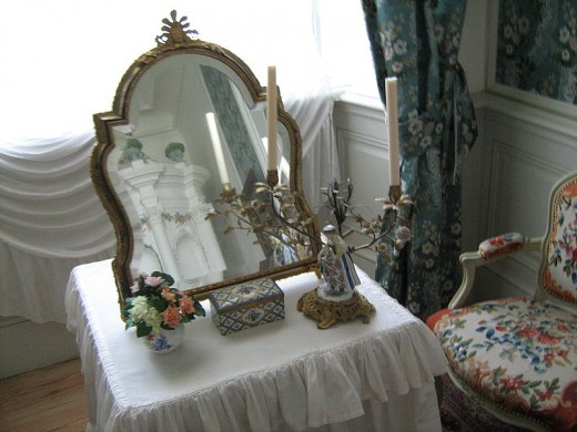 Mirrors like this one have been used for centuries as a means of seeing into the future...