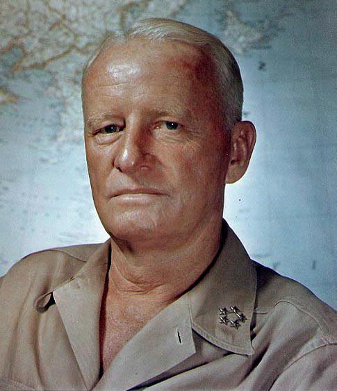 CinCPac Admiral Chester Nimitz