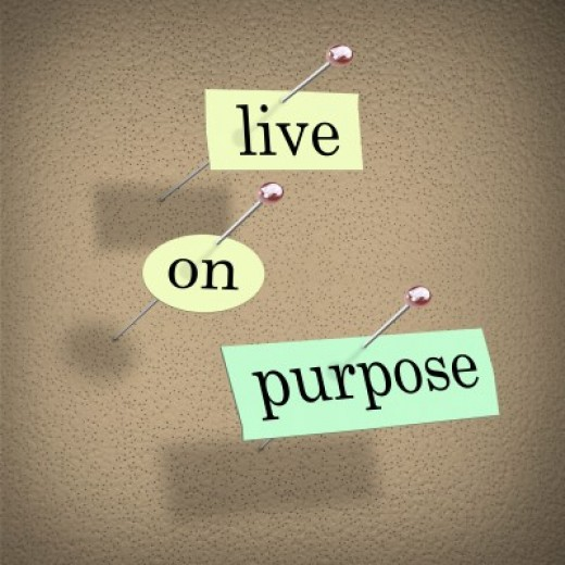 Your life must be purposeful