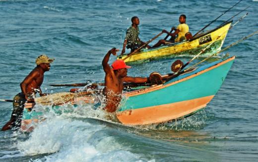 Subsistence fishermen - Tofu