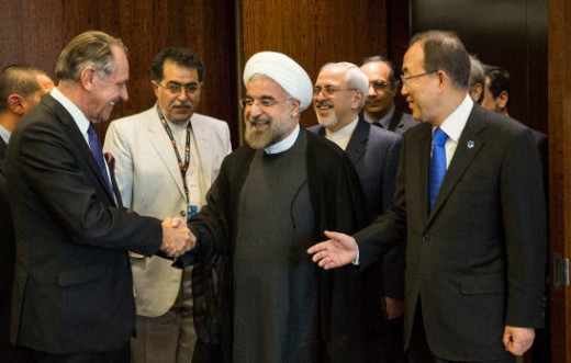 Rouhani, a moderate