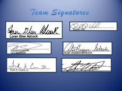 Who signed the check?