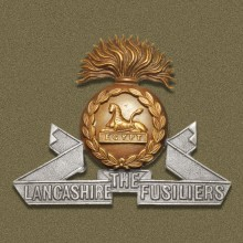 Badge of Lancashire Fusiliers