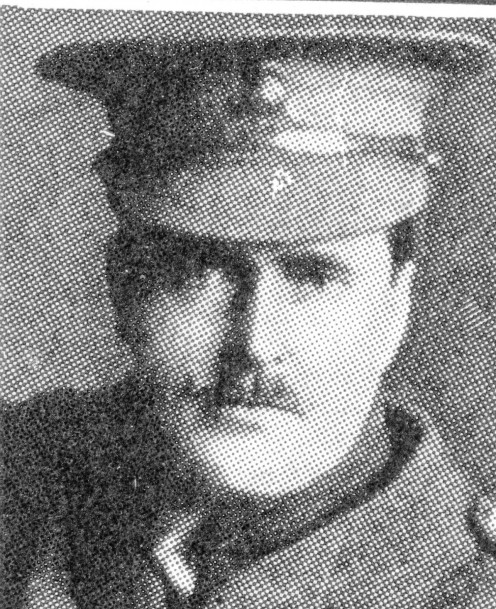Capt. R. R. Willis, one of the three heroes awarded V.C. by vote, for his bravery during landing on Gallipoli, to the west of Cape Helles.