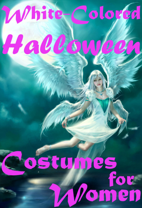White-Colored Halloween Costumes For Women