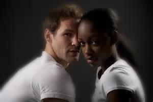 white man with black woman