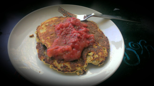 Finished: The healthiest pancakes you'll ever eat!