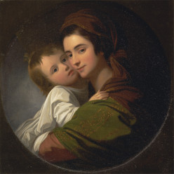 A Little Boy and his Mother
