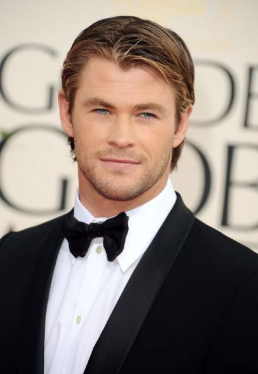 "Chris Hemsworth. 30, 6' 3 1/4"". Best known for ""Thor,"" and ""Avengers."""