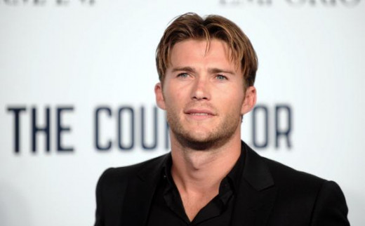 Scott Eastwood. 27, height unknown. Son of Clint Eastwood, male model.