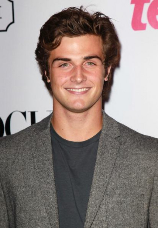 "Beau Mirchoff. 24, 6' 1"". Known for role in ""Awkward."""
