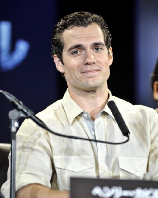 "Henry Cavill. 30, 6' 1"". Known for ""Man of Steel."""