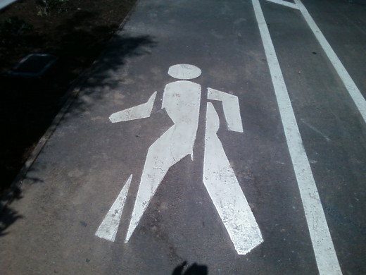 planning that considers pedestrians and handicapped people