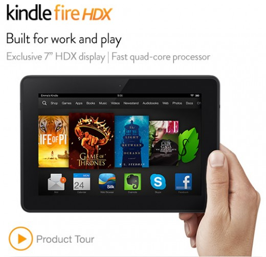 Of course it's the best, it's a Kindle!