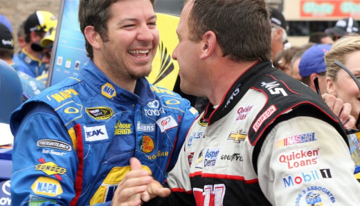 Truex and Ryan Newman will be de facto teammates come next year