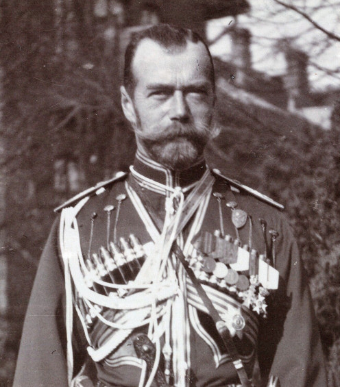 Tsar Nicholas II (Mr. Jones)