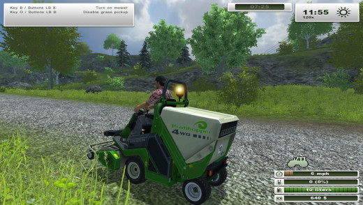 Grass cutting made easy!