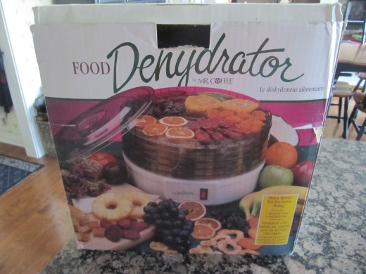 I still keep my dehydrator in its original box when not in use.  It keeps the dust out.