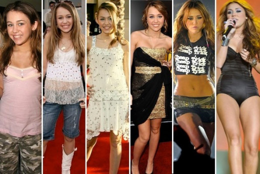 From Hannah Montana to Bangerz