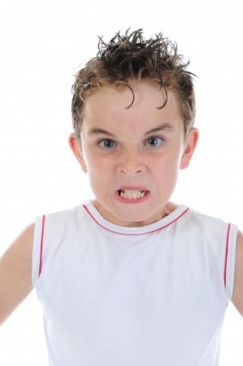 Tough kid.