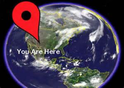 You are here, means you are seated with Christ in heavenly places