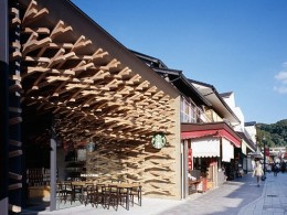 This Starbucks is in Japan