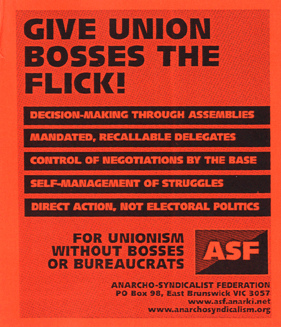 Sometimes Unions are criticized for having a structure similar to that of a companies - and thus having similar pitfalls. Read about Anarcho-Syndicalism or the IWW to learn more.