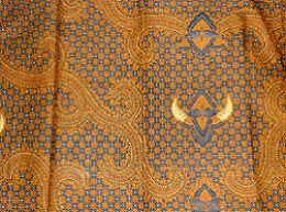 Truntum, the motif symbolizes guidance.