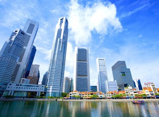 Singapore's beautiful skyline