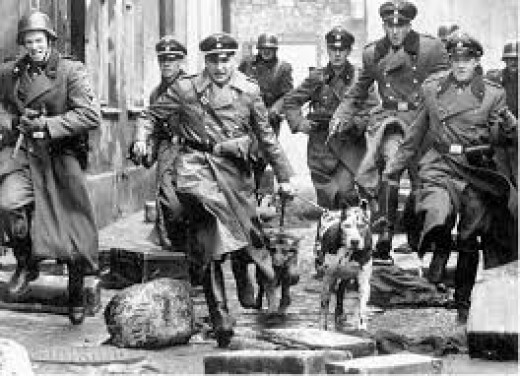 The Gestapo operating in France.