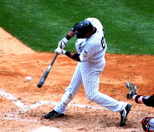 New York Yankees slugger, Robinson Cano.