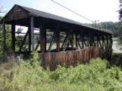 Cuppett's Covered Bridge 1882  Bedford, Pennsylvania