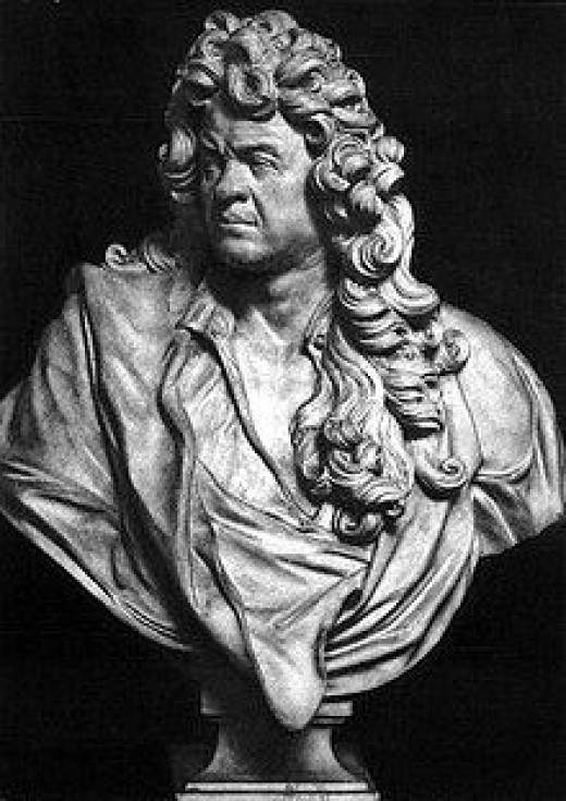 The Bust of Jean-Baptiste Lully
