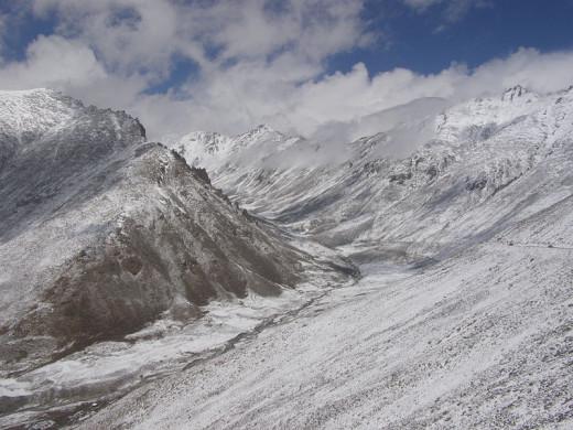 U-shaped Leh Valley