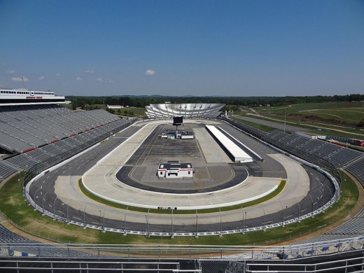 The half mile track runs the same number of overtime laps as Talladega