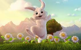 The Easter Bunny (also called the Easter Rabbit or Easter Hare) is a character depicted as a rabbit bringing Easter eggs. Originating among German Lutherans, the Easter Hare originally played the role of a judge, evaluating whether children were good