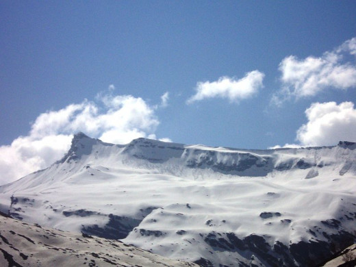 Himalayan View from Rohtang Pass
