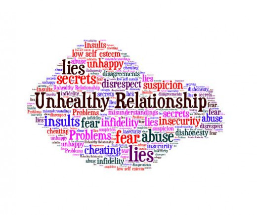 what are 3 warning signs of an unhealthy relationship