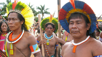 The Kayapo tribe.