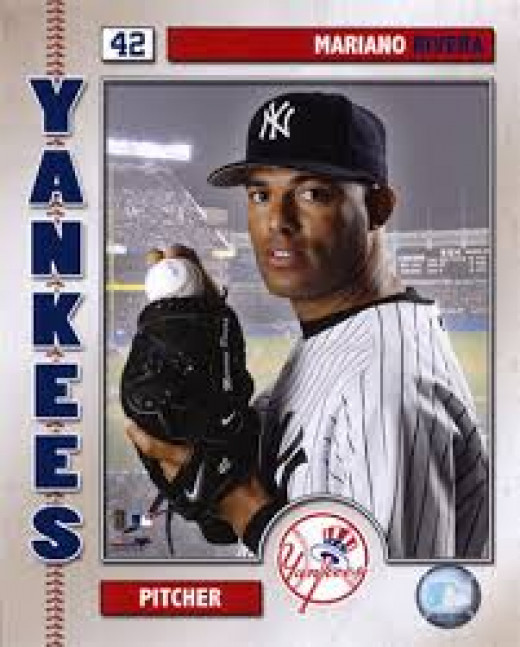 "Mariano Rivera - ""42"" Pitcher for the New York Yankees"