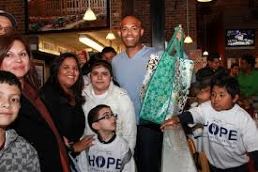 """As long as you love Christ, we in it."" Mariano Rivera."
