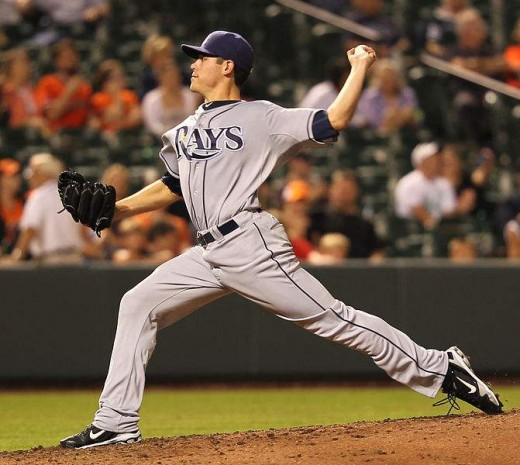 Young left-hander Matt Moore went 17-4 for the Tampa Bay Rays in 2013.